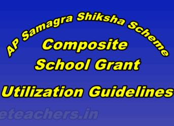 AP Samagra Shiksha - Composite School Grant Utilization Guidelines
